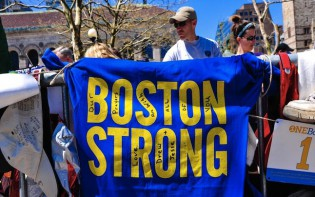 Boston Marathon. Boston strong