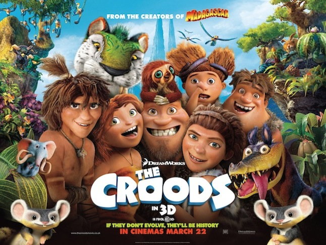 The Croods - a must see film! 21st Century Fox