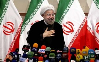 New President of Iran, Hassan Rouhani  Credit : Madhu babu pandi flickr