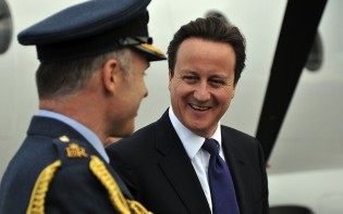 Cameron pledges to provide humanitarian to Syria, credit to Number 10, flickr.com