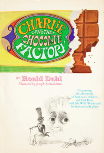 Charlie and the Chocolate Factory available in a book