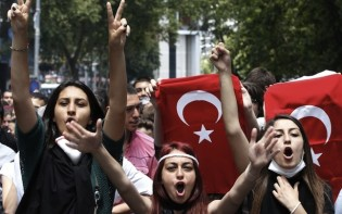 Turkey protests on seeking control access to the internet@ credit creative commons