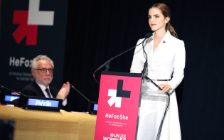 Emma Watson speaks at the UN. Credit@flickrUNWomen'sHeForSheCampaign