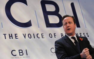 "At the CBI conference on Monday, in London, David Cameron said, ""I agree with what the CBI has said: we should be looking for a reformed European Union. Now I am the politician who has the plan for that reform; who wants to see the single market safeguarded."" Image credit - realbusiness.co.uk."