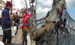 Sailing on the Queen Galadriel was  so much fun! Credit@The Cirdan Sailing Trust