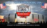 Superbowl Sunday will to be on February 2015. Credit@UniversityofPhoenixStadiumfacebook