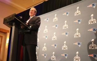 Patriots manager Bill Belichick has maintained that the team has acted within the rules. credit@Patriotswebsite