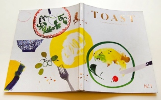 TOAST Magazine is an annual magazine celebrating food and ideas. Published independently by the founders of TOAST, it focuses on food culture and the stories that surround it. credit@sambev375 via flickr.co.uk
