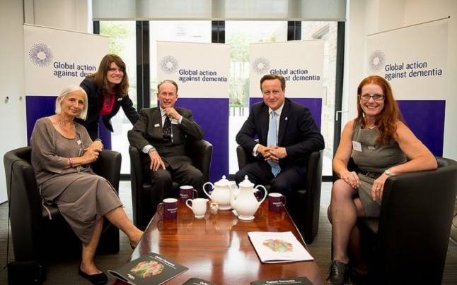Prime Minister David Cameron attending the first Global Dementia Legacy Summit in London. Credit@Number 10