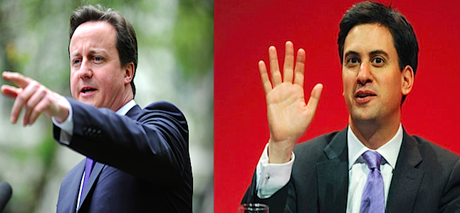 Labour party leader Ed Miliband is still pushing for a head-to-head televised debate with Prime Minister David Cameron. Credit@Wikipedia