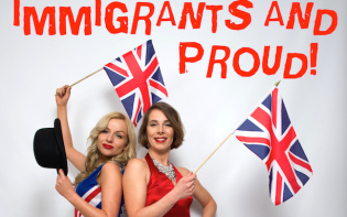 Immigrants singing their way to the hearts of the UK people.