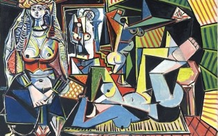 PICASSO FEMMES D'ALGER. Credit@ 2015 Estate of Pablo Picasso Artists Rights Society (ARS) and Christie's, New York