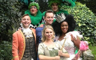 Starring Stephen Mulhern from Britain's Got Talent as Buttons, Lisa Davina Phillip, who jumps from the West End Stage of Matilda into her fairy godmother and Joanna Sawyer as Cinderella.